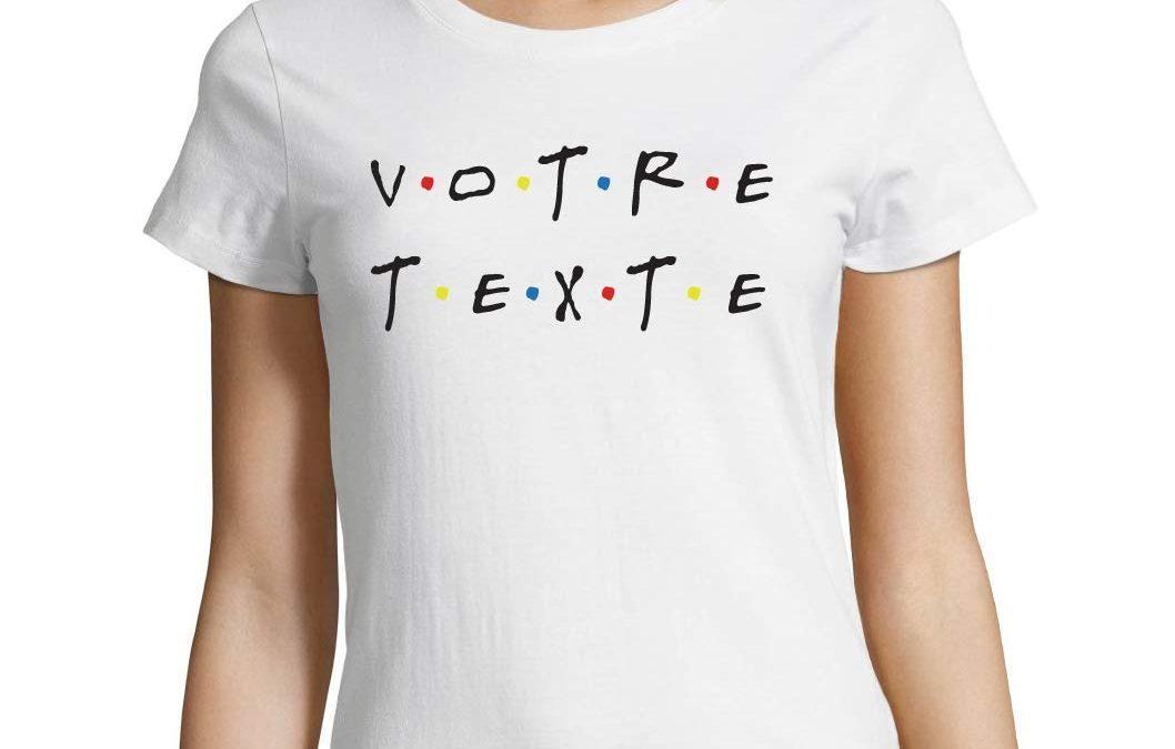 Le t-shirt personnalise : une tendance qui prend de la place
